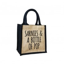 Sarnies & Pop Cute Jute Bag