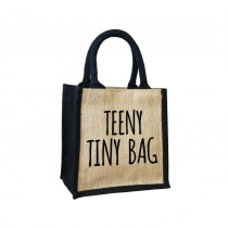 Teeny Tiny Cute Jute Bag