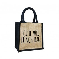 Wee Lunch Cute Jute Bag
