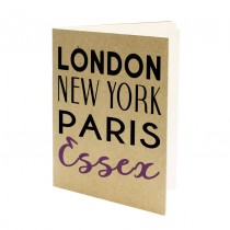London NY A5 Eco Jotter