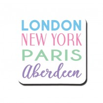 London NY Pastel Classic Coaster