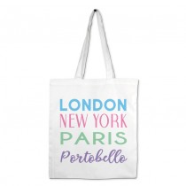 London NY Pastel Shopper +Tag