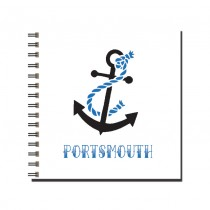 Blue Anchor Wiro Notebook