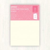 A4 IVORY Insert Paper (100)