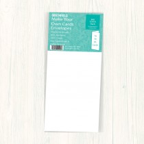 DL Ivory Envelopes (50)