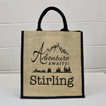 Adventure Jute Shopper