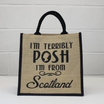 Queen Posh Jute Shopper
