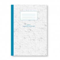 A4 Square Grid Content Book