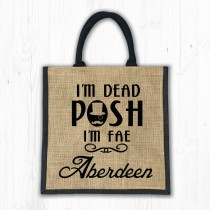 Sir Posh Jute Shopper
