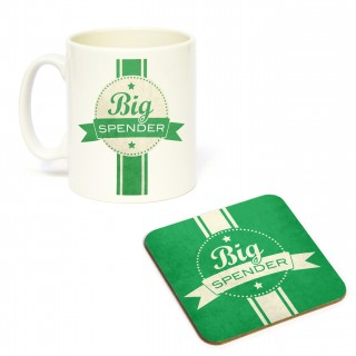 Mug/Coaster Set Big Spender product image