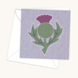 Thistle Light Greeting Card product image