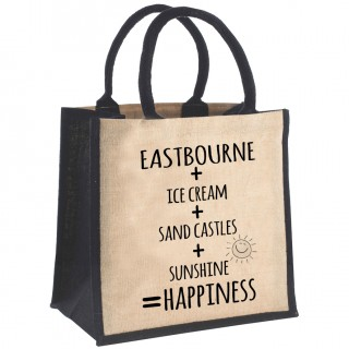 Sums Printed Jute Shopper+Tag product image