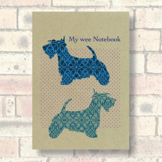 A5 Eco Notebook-Scottie product image