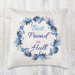 Best Relation Cushion & Inner (blue)+Tag product image