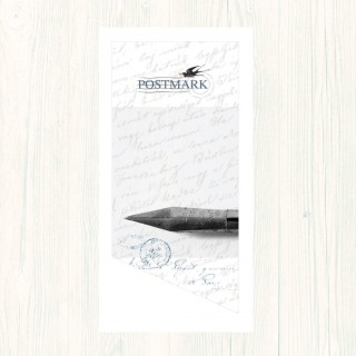 Postmark Smooth White DL Envs product image