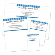 Card Thick White 290gsm