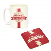 Mug/Coaster Set Ultimate Champ