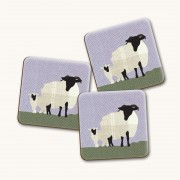 Sheep Gloss Coaster