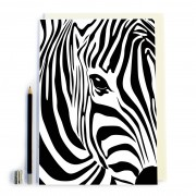 Zebra Print Notebook