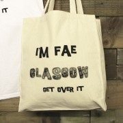 'I'm Fae - Get Over It' Gusset Cotton Bag + Tag