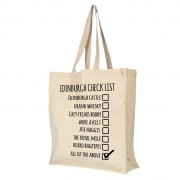 Checklist Custom Town - Gusset Cotton Bag + Tag