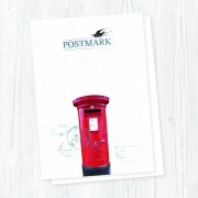 Postmark Smooth White A4 Pad