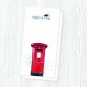 Postmark Smooth White DL Envelopes