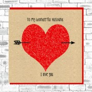 Eco Love You Card-Husband