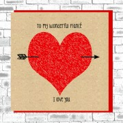 Eco Love You Card-Fiance