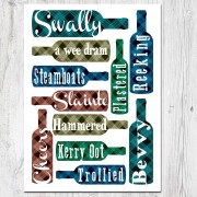 Swally Linen Poster Print