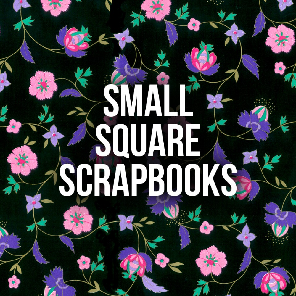 Small Square Scrapbooks