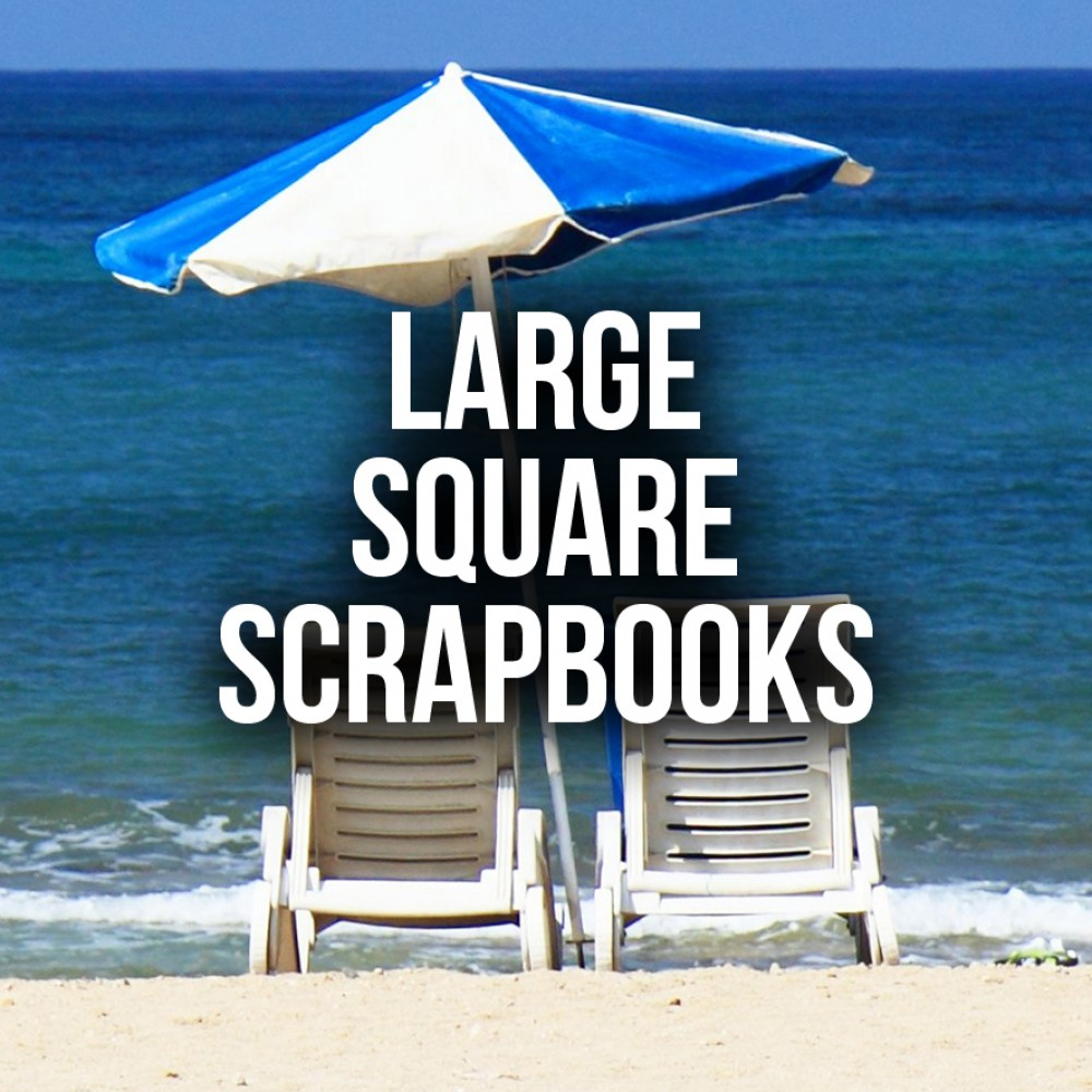 Large Square Scrapbooks